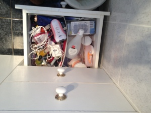 nails drawer before