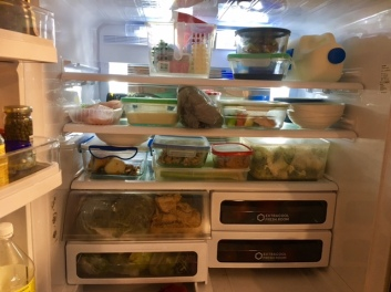 Fridge before